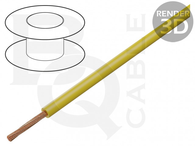 FLRY-A0.22-YL BQ CABLE, Conduttore