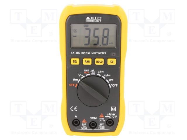 AXIOMET AX-102 - Digital multimeter