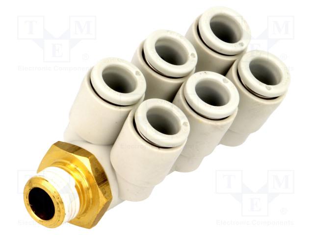 SMC KQ2ZT06-01AS - Nástrčná spojka