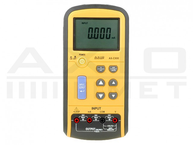 AX-C800 AXIOMET, Voltage calibrator