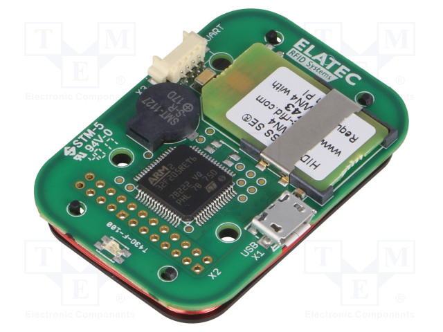 ELATEC TWN4 MULTITECH 3-I  HF PCB WIEGAND, BLE - RFID reader
