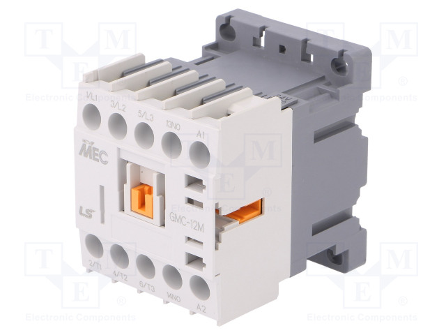 LS INDUSTRIAL SYSTEMS GMC-12M 24VAC 1A - Contactor: 3-pole