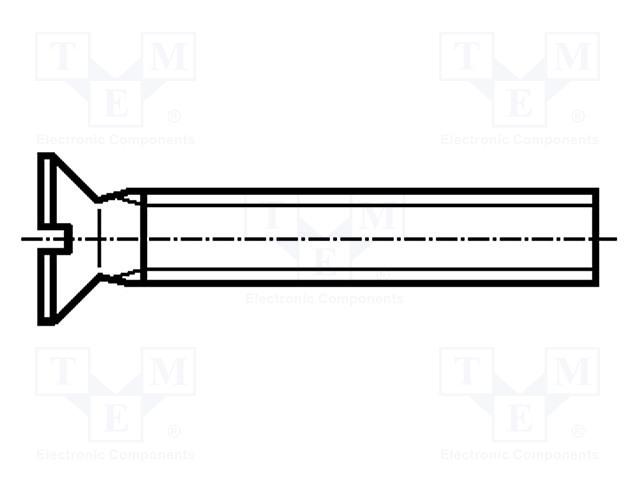 BOSSARD M4X40/BN658 VSM13328 - Šroub