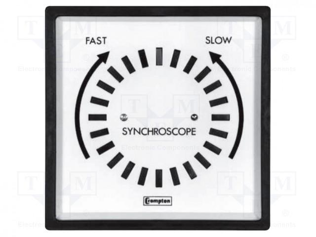 CROMPTON - TE CONNECTIVITY 039-91401-0400-400V - Synchronization meter