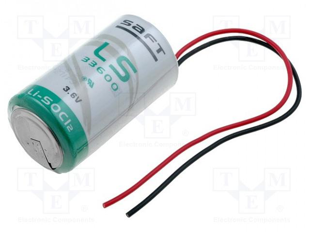 SAFT LS33600FL - Baterie: lithiové