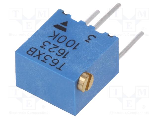 VISHAY T63XB104KT20 - Potenciometr: montážní