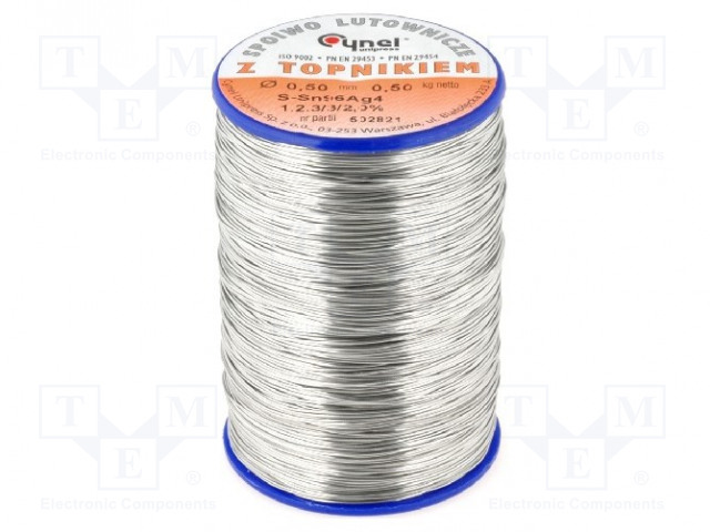 CYNEL SN96A-0.5/0.5 - Soldering wire