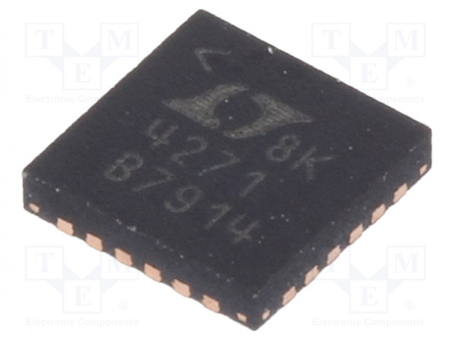 Analog Devices LTC4271IUF#PBF - IC: kontroler PoE PSE