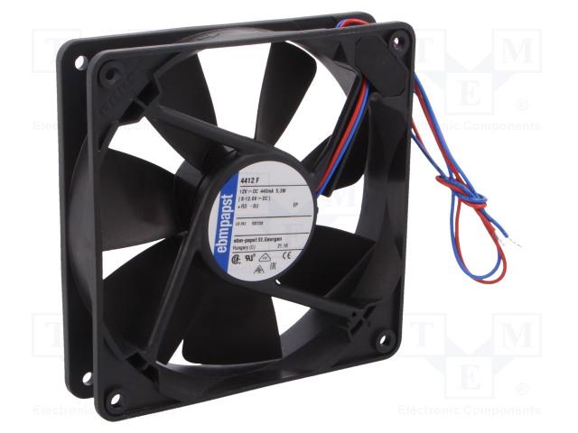 EBM-PAPST 4412 F - Fan: DC