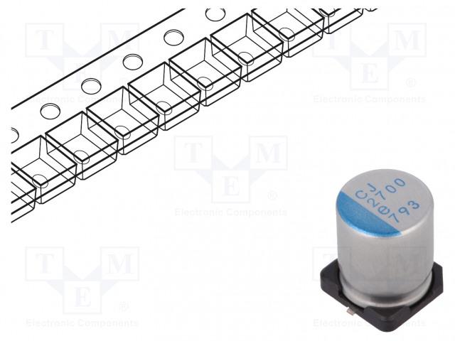 NICHICON PCJ0E272MCL1GS - Kondenzátor: polymerový