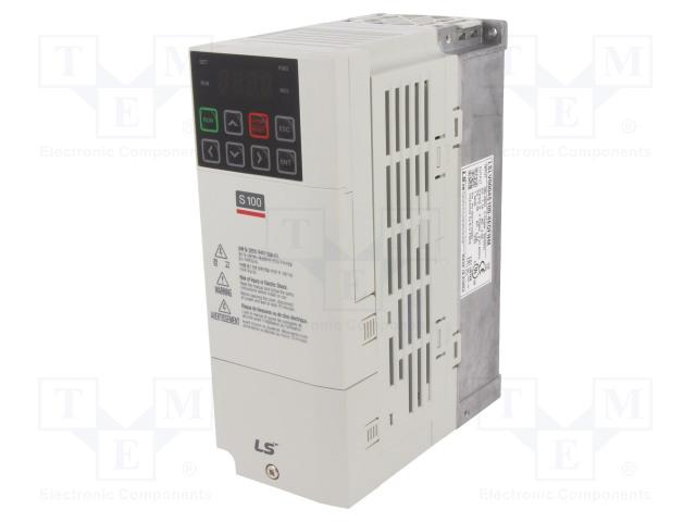 LS INDUSTRIAL SYSTEMS LSLV0004 S100-4EOFNM - Falownik wektorowy