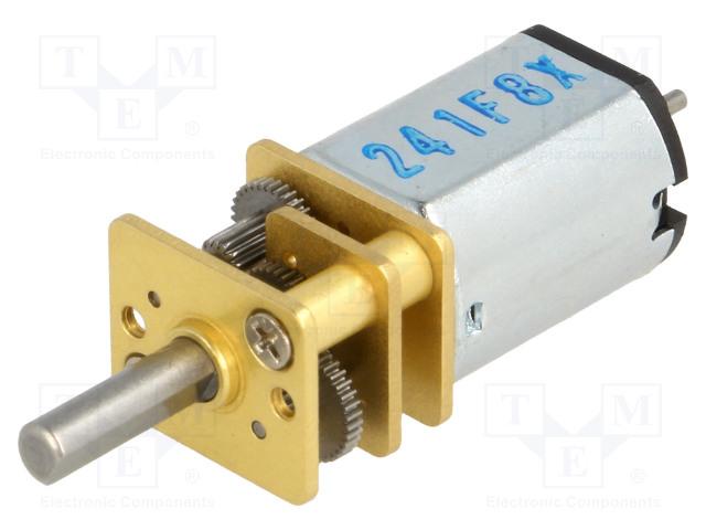 POLOLU 50:1 MICRO METAL GEARMOTOR MP 6V DUAL - Motor: DC