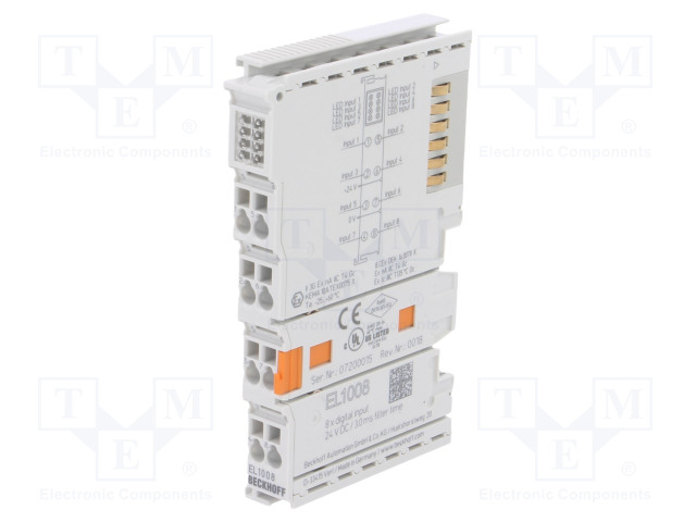 Beckhoff Automation EL1008 - Industrial module: digital input
