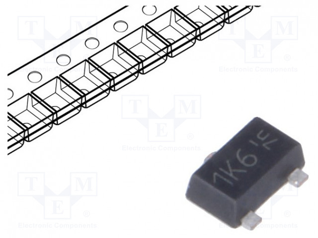 DIODES INCORPORATED ZXMS6004FFTA - IC: power switch