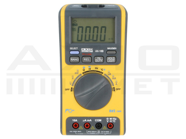 AX-18B AXIOMET, Digitalmultimeter