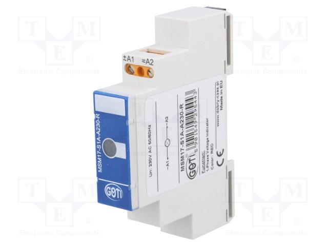 DOBRY CZAS MSM17-S1A-A230R - Module: voltage indicator