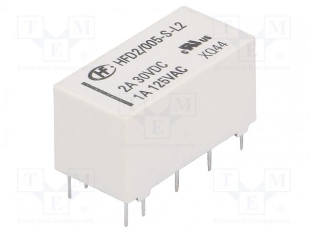 HONGFA RELAY HFD2/005-S-L2 - Relé: elektromagnetické