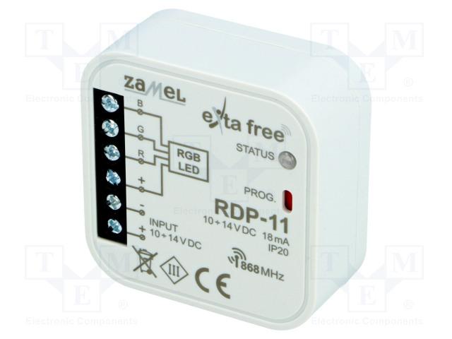 ZAMEL RDP-11 - Kontrolér RGB