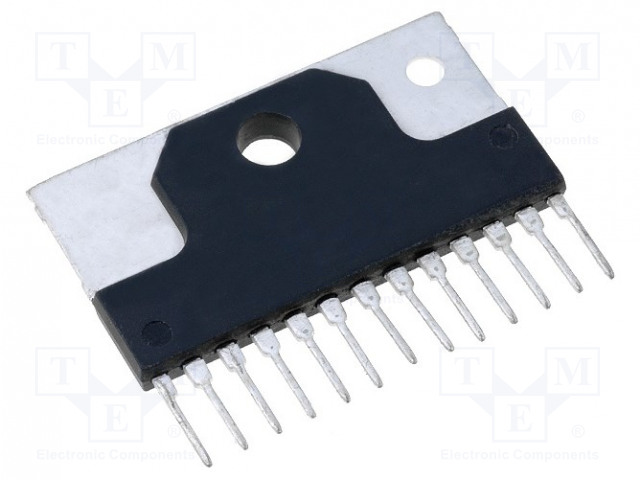 Integrated circuit: audio amplifier LA4446   TME