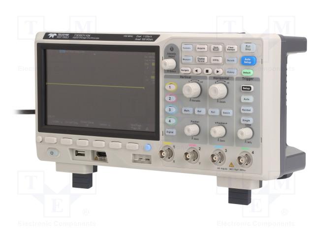 Осциллоскопы Осциллограф: цифровой; Частота: ≤100МГц; Каналы: 4; 14Мвыб./канал Фото 1.