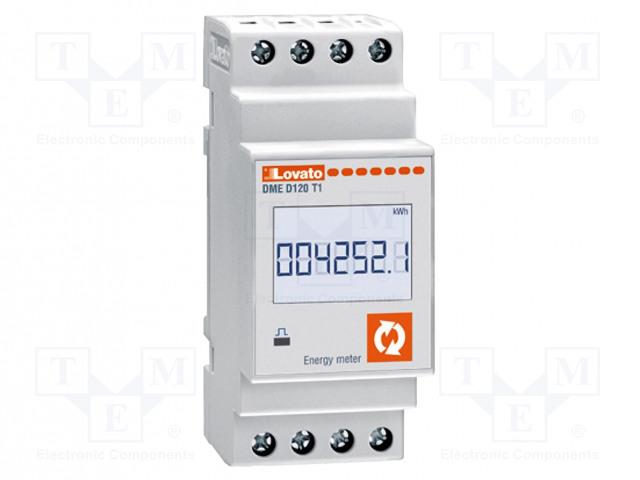 LOVATO ELECTRIC DME D120 T1 - Sähköenergian laskurit