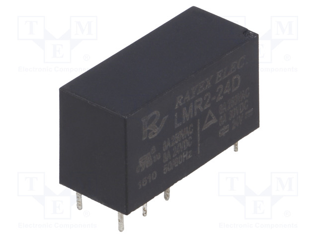RAYEX ELECTRONICS LMR2-24D - Relé: elektromagnetické