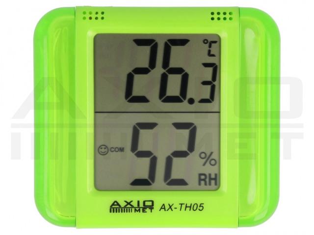 AX-TH05 AXIOMET, Hőmérő-higrométer