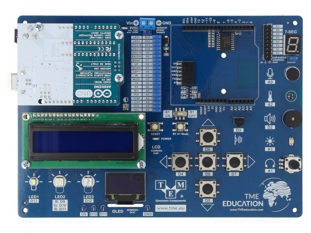 TRANSFER MULTISORT ELEKTRONIK TME-EDU-ARD-2 - Dev.készlet: oktató Arduino