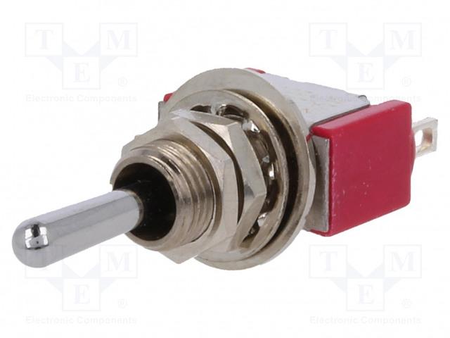C&K 7105SYZQE - Schalter: Hebelschalter