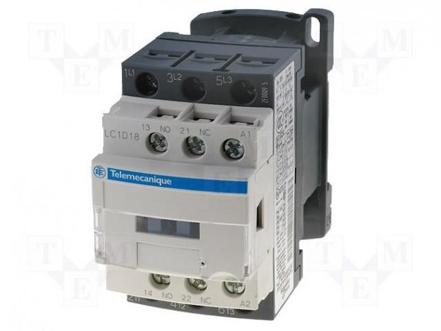 SCHNEIDER ELECTRIC LC1D186BD - Schütz: 3-polig