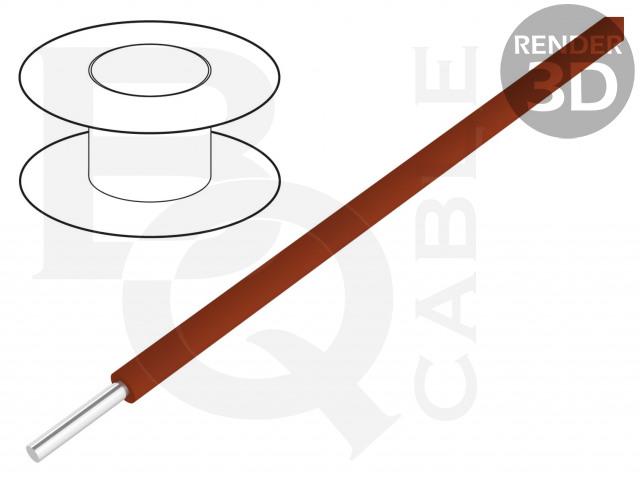 KYNAR-BR/100 BQ CABLE, Vezeték