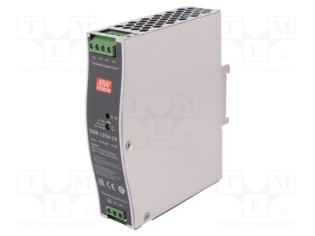 DDR-120A-24 MEAN WELL - Power supply: DC/DC | TME