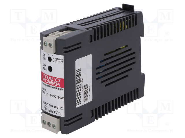 TRACO POWER TCL 012-124 DC - Converter: DC/DC