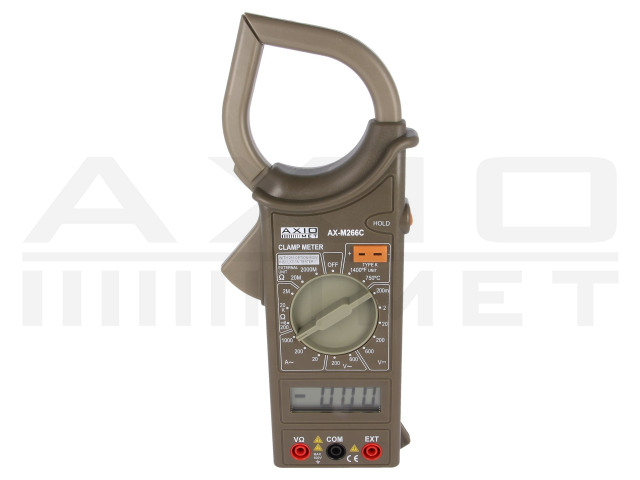 AX-M266C AXIOMET, AC digital clamp meter
