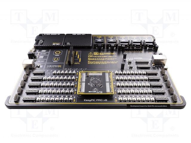 MIKROELEKTRONIKA EASYPIC PRO V8 DEVELOPMENT SYSTEM - Výv.sada: Microchip PIC