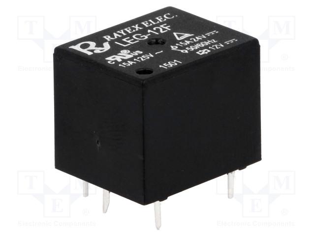 RAYEX ELECTRONICS LEG-12F - Relé: elektromagnetické