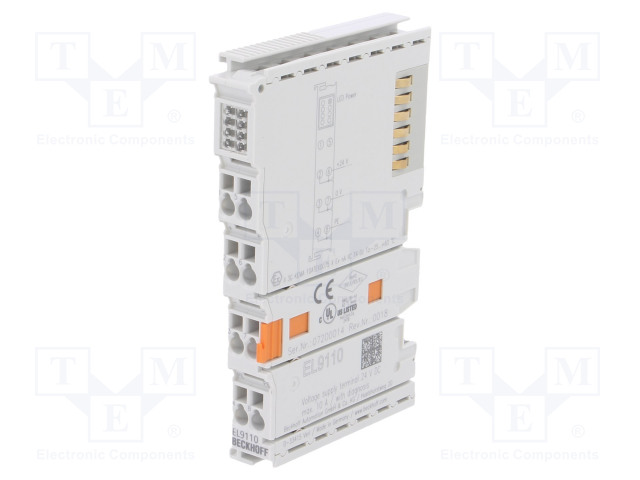 Beckhoff Automation EL9110 - Industrial module: supply terminal