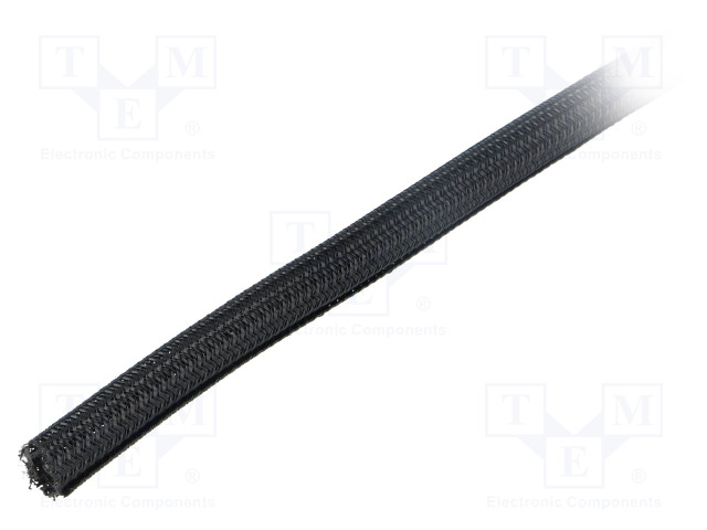 ALPHA WIRE GRP1303/8 BLACK 100 FT - Polyester conduit