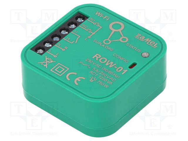 ZAMEL ROW-01 - Single channel controller