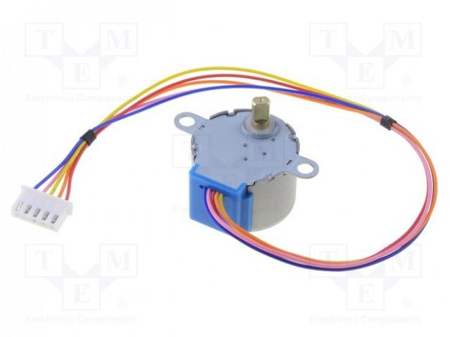 MIKROELEKTRONIKA STEP MOTOR 5V (28BYJ-48-5V) - Krokový motor