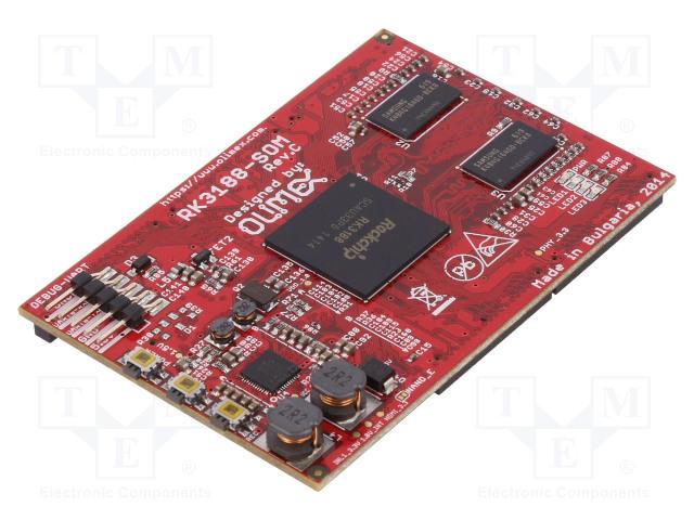 OLIMEX RK3188-SOM-4GB - Modul: SOM