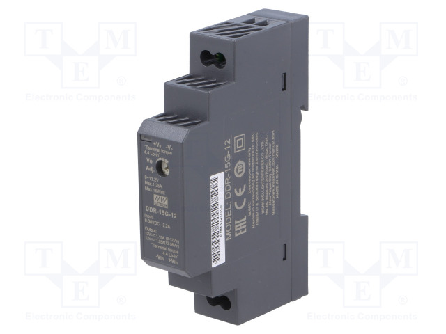 MEAN WELL DDR-15G-12 - Power supply: DC/DC