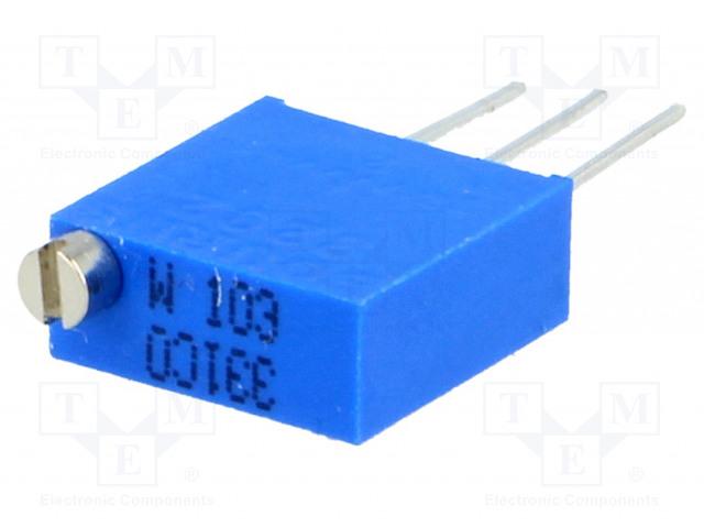 BOURNS 3292W-1-103LF - Potenciometr: montážní