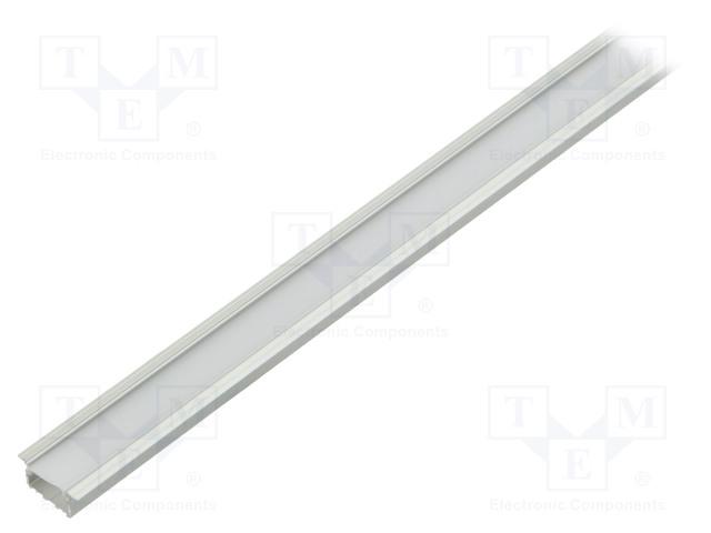 FIX&FASTEN FIX-GLG2-AS-1M-SET - Profil für LED Module