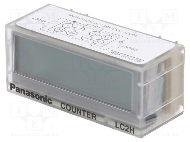 PANASONIC LC2H-C-2K-N - Counter: electronical