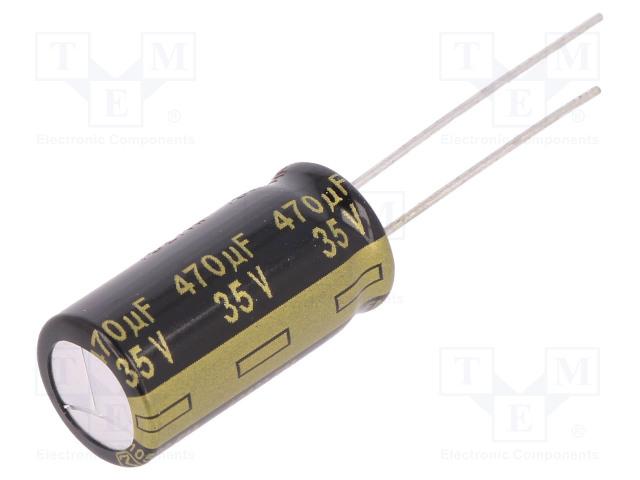 PANASONIC EEUFM1V471 - Capacitor: electrolytic