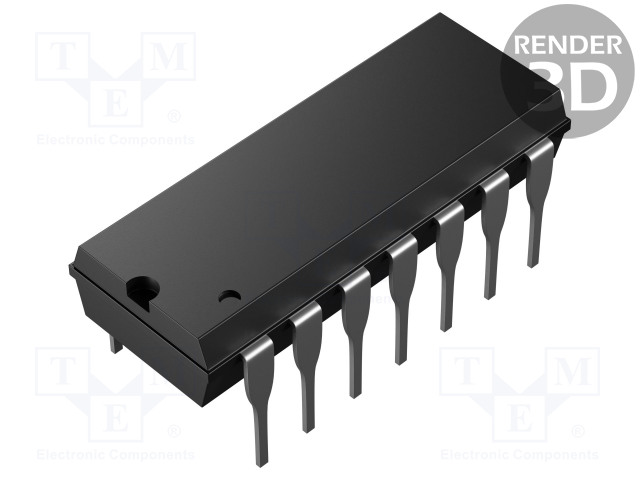 TEXAS INSTRUMENTS CD4013BE - IC: digital