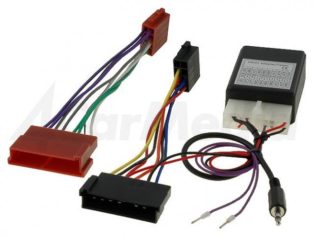 FORD-CLR 4CARMEDIA, Adaptér pro ovládání z volantu