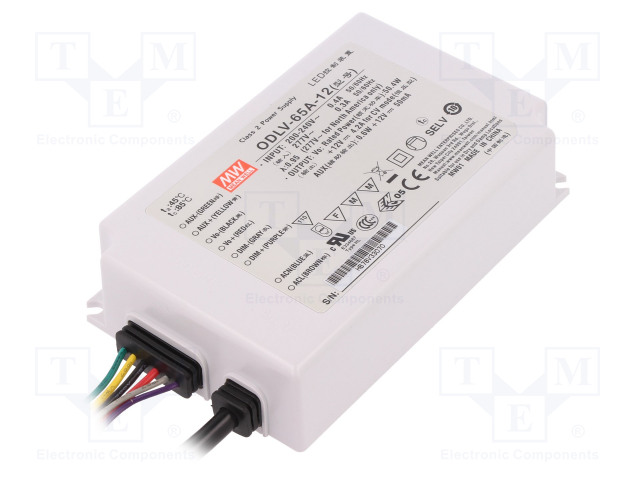 MEAN WELL ODLV-65A-12 - Power supply: switched-mode