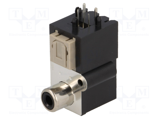 CLIFF OTJ-6 FCR684206T - Konektor: optické (Toslink) + RCA